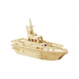 ROWOOD Ξύλινο 3D πάζλ σκάφος