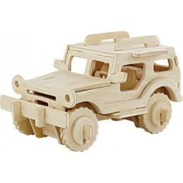 Robotime Rowood Ξύλινο 3D Jeep