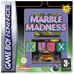 Marble Madness Klax - GAME...