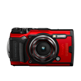 OLYMPUS TG-6 RED TOUGH CAMERA