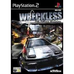 Wreckless Playstation2 used...
