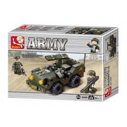SLUBAN Τουβλάκια Army, Jeep...