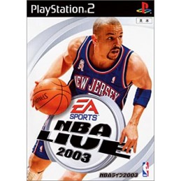 nba live 2003 PLAYSTATION 2...