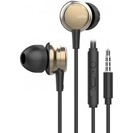 UIISII Earphones Metal (χρυσο)