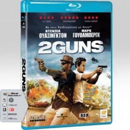 2 GUNS (BLU-RAY) USED