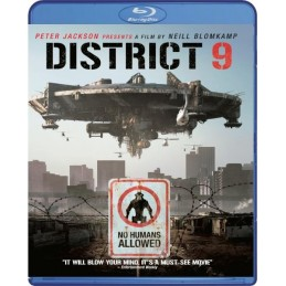 DISTRICT 9 (BLU-RAY) USED